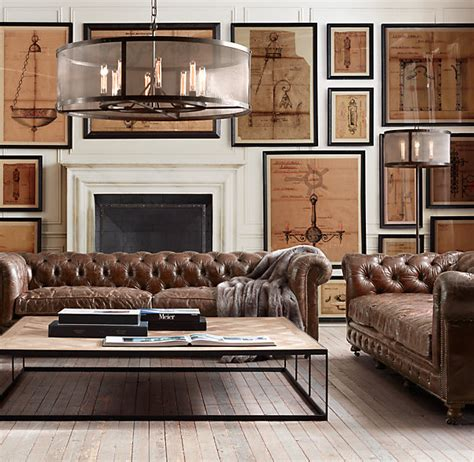 Chesterfield Restoration Hardware by Vintage Leather Vkvvisuals