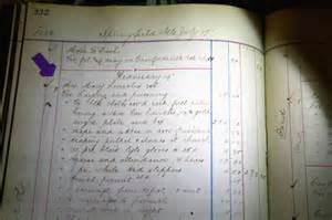 todd funeral home todd lincoln funeral ledger found in illinois capital