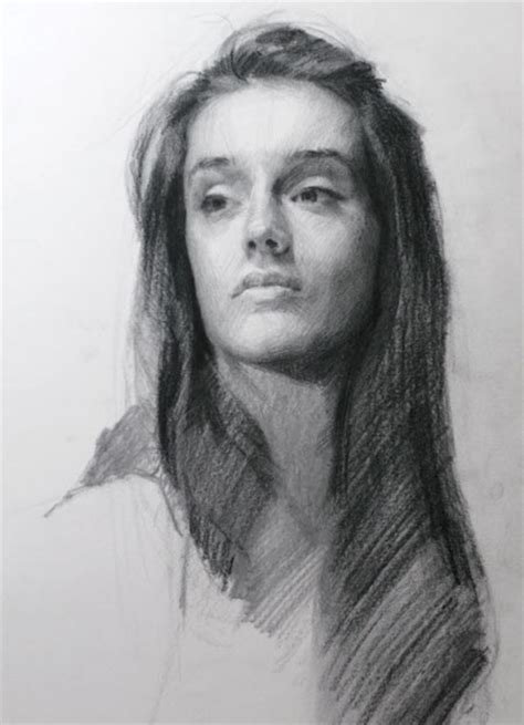Portraits And Sketches by Charcoal Louis Smith