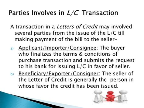 Central Bank Of Libya Letter Of Credit maintaining letter of credit some basic theory