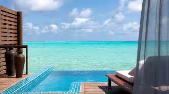 Males deluxe water villa luxury pool villas males