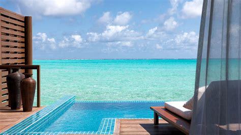 maldives deluxe water villa luxury pool villas maldives