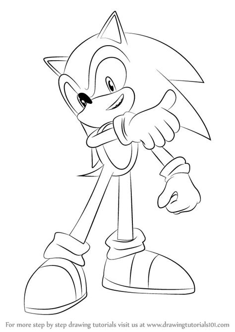 Best Drawing Of Sonic