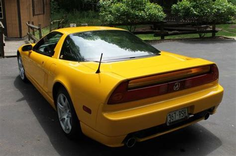 car service manuals pdf 2004 acura nsx engine control find used 2004 acura nsx rio yellow pearl onyx 6 spd manual in luxemburg wisconsin united