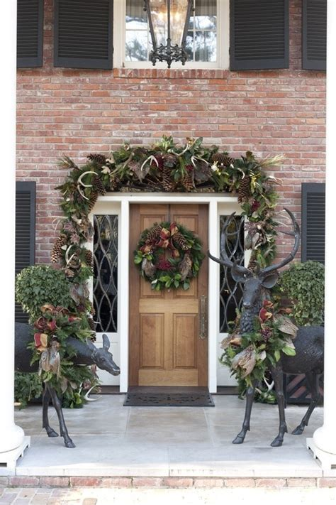 30 christmas decorating ideas to get your home ready for 30 amazing front porch christmas decoration ideas