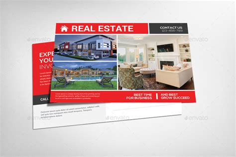 real estate postcard design templates real estate postcard psd by graphicforestnet graphicriver