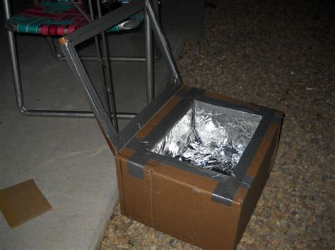 How To Make A Paper Oven - make a solar oven from cardboard box in 5 steps the
