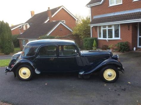 Citroen Traction Avant For Sale by For Sale 1954 Citroen Traction Avant Sold Car And Classic