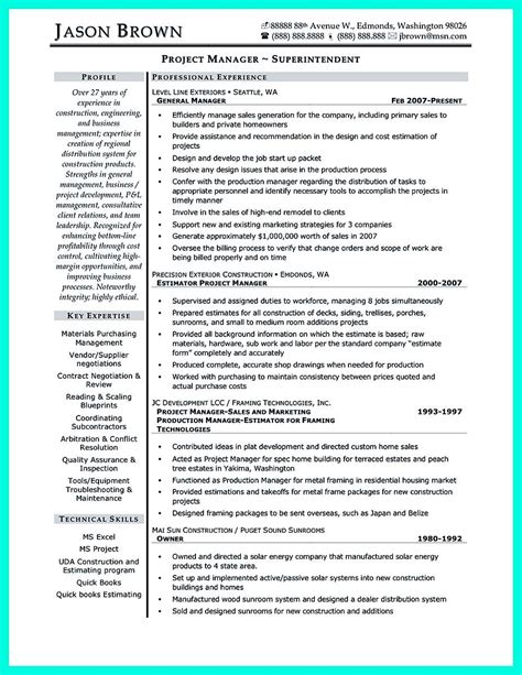 cool construction project manager resume get applied cool construction project manager resume to get