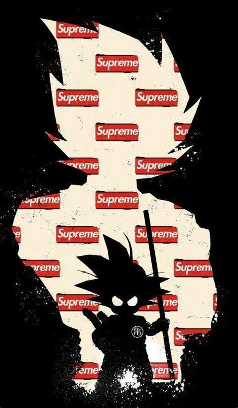 supreme  goku    iphone wallpapers supreme