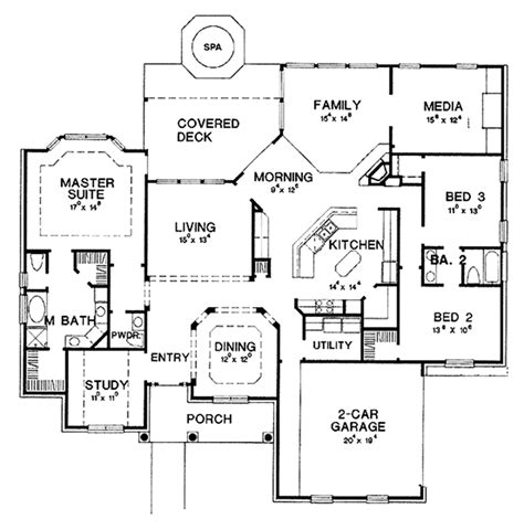 house plan 45 8 62 4 colonial style house plan 3 beds 2 5 baths 2666 sq ft