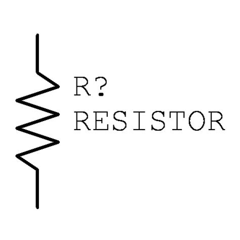 resistor symbol and meaning resistor symbol clipart best