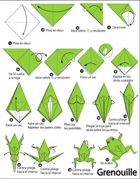 Origami Frog Printable - origami search results calendar 2015