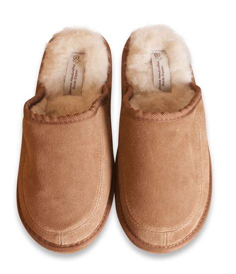 womens sheepskin slippers nordvek genuine suede sheepskin wool blend mule