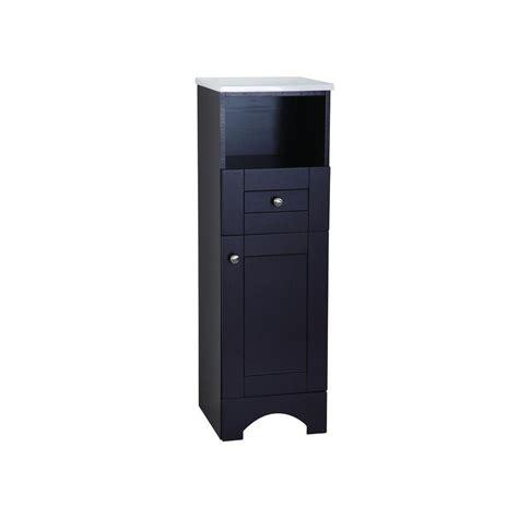 Glacier Bay Bathroom Cabinets Glacier Bay Mar 14 1 2 In W X 45 In H X 14 3 10 In D Bathroom Linen Storage Cabinet In