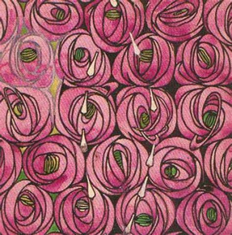 pattern design la roses charles rennie mackintosh wikiart org