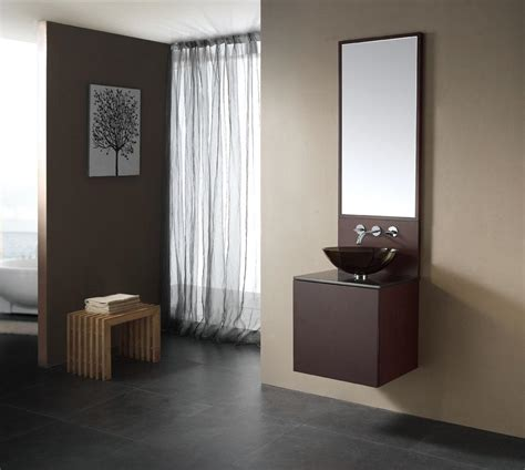 Wall To Wall Bathroom Vanity Big Mirror Closed Sweet Washbowl On Simple Wall Fit To Modern Bathroom Vanity With Picture