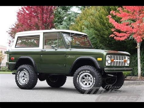 bronco car grayson custom moss green eb classicbroncos com forums