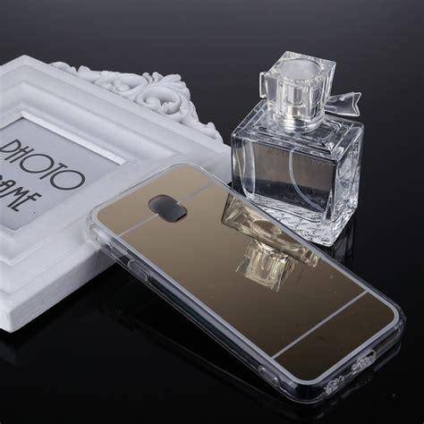 Softshell Tpu Mirror Samsung J3 1 for samsung galaxy j3 2017 eu version acrylic tpu electroplating mirror protective back