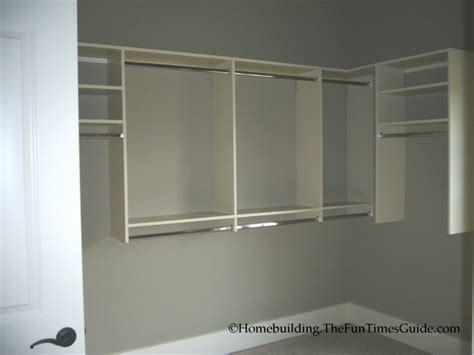 How To Build A Wall Closet by One Of A Custom His Walk In Closet With