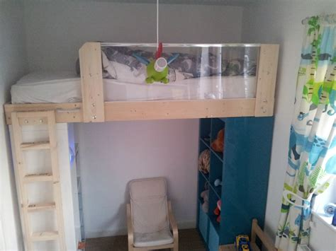 Ikea Bunk Bed Hack Materials 2x Expedit 4 215 2 Optional Perfekt Plinth Optional Gulliver Or Other Junior Bed