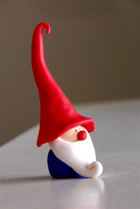 Handmade Gnomes - adorable handmade gnomes sculpted with polymer clay