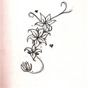 long flower design by hikariix3 on deviantart