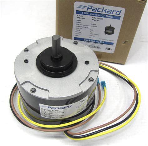 1500 rpm fan motor packard condenser fan motor 43405 for carrier hc33ge208 1