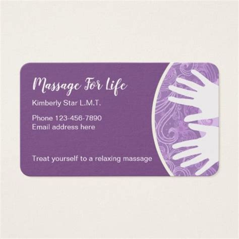 Therapist Business Cards