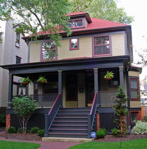 paint exterior color with excellent front stairs and roof for traditional home design