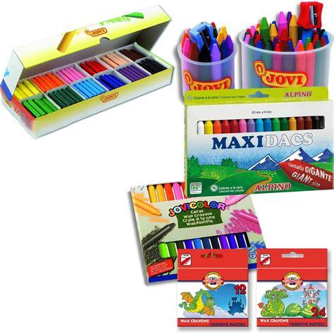 Set Of 12 Crayons wax crayons assorted set of 12 colourcraft ltd