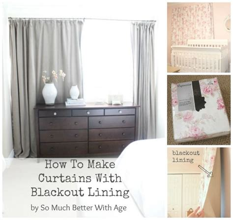 How To Make Curtains With Blackout Lining Make Curtains