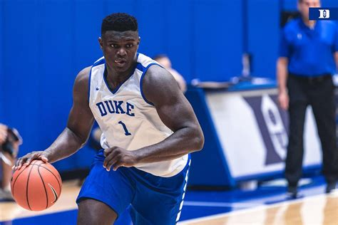 coach k calls 6foot7 285pound zion williamson