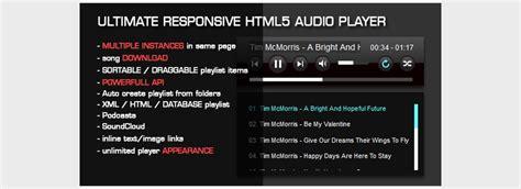 tutorial html audio 15 best html5 audio players javascript world