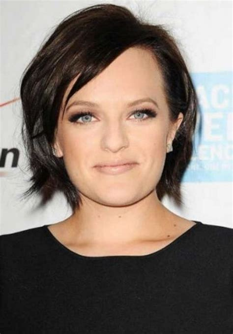 bob hairstyles for round faces and thick hair 2017 layered short bob hairstyles for round faces thick