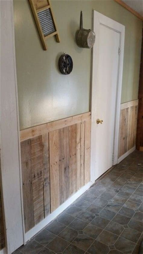Pallet Wainscoting by Best 25 Pallet Walls Ideas On Pallet Accent