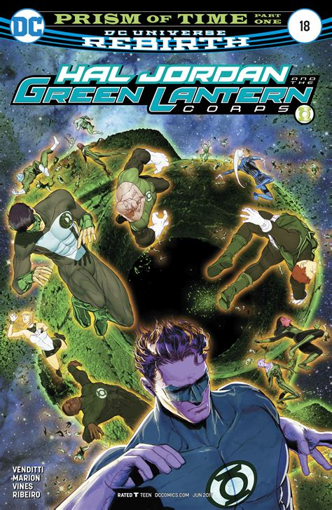Dc Comics Hal And The Green Lantern Corps 8 January 2017 dc comics rebirth spoilers hal and the green lantern corps 18 new status quo w a time