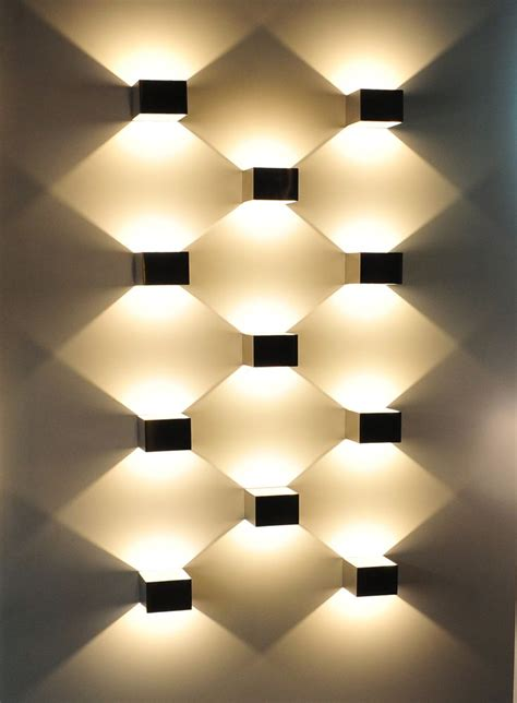 wall with lights wall light design home design