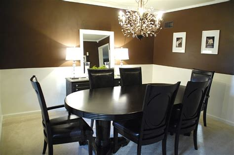Chocolate Brown Dining Room by Chocolate Brown Dining Room Archives Living Rich On