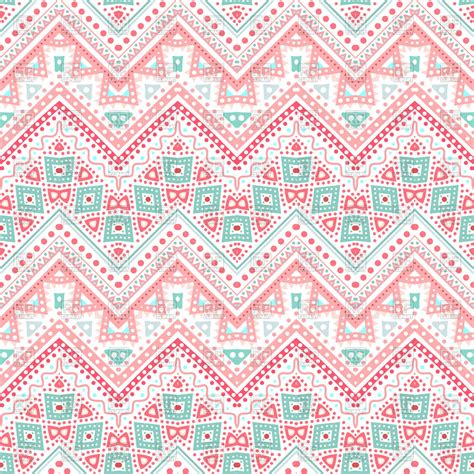 tribal pattern zigzag tribal ethnic pink zigzag pattern royalty free vector clip