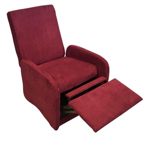 Compact Recliner by The College Recliner Crimson