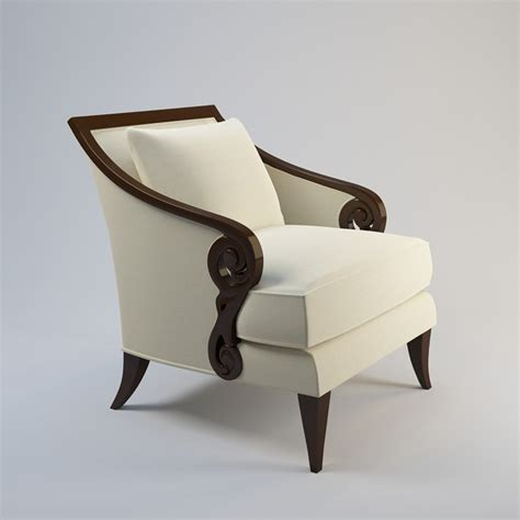 christopher guy armchair 3d christopher guy armchair 60 0027 model