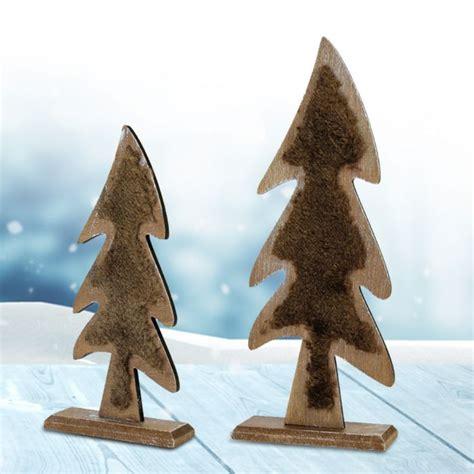 deko tannenbaum aus holz mit gravur besinnliche