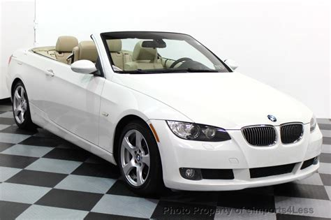 Bmw Convertible Used by 2007 Used Bmw 3 Series 328i Premium Package Convertible At