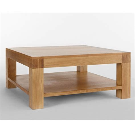 chunky square coffee table nevada square chunky wooden coffee table buy