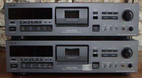 format audio pcm sony pcm r300 image 636398 audiofanzine