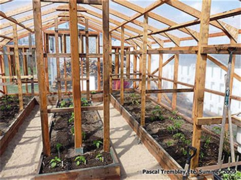 wood frame greenhouse plans  woodworking