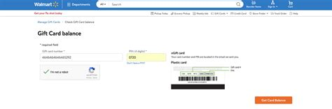 Check Walmart Gift Cards - how to check walmart gift card balance without redeeming it pax trading