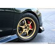 Gold Advan RG Wheel  BenLevycom