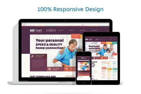 responsive web design layout generator modello siti web per un sito di internet